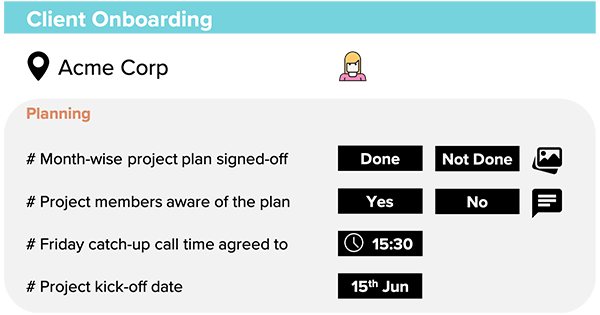 client onboarding checklist and client onboarding audit processes and workflows